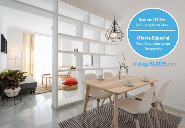 Apartamento en Málaga - MalagaSuite Center & Parking