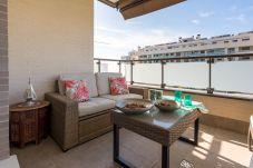 Ferienwohnung in Torremolinos - MalagaSuite Alamos Beach & Tennis & Pool